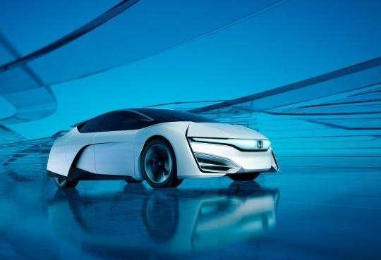 氢能汽车再次进入公众视线